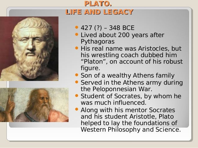 pythagoras and plato essay
