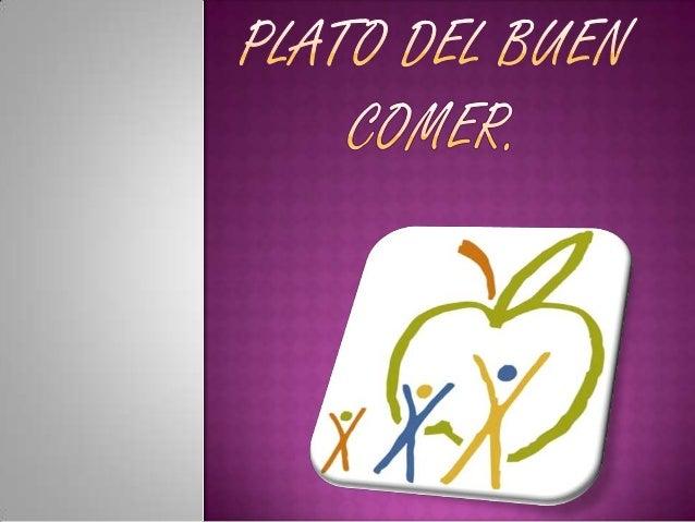 El  Plato del Bien Comer es una herramienta diseñada para que todos los mexicanos aprendamos a comer de una manera prácti...