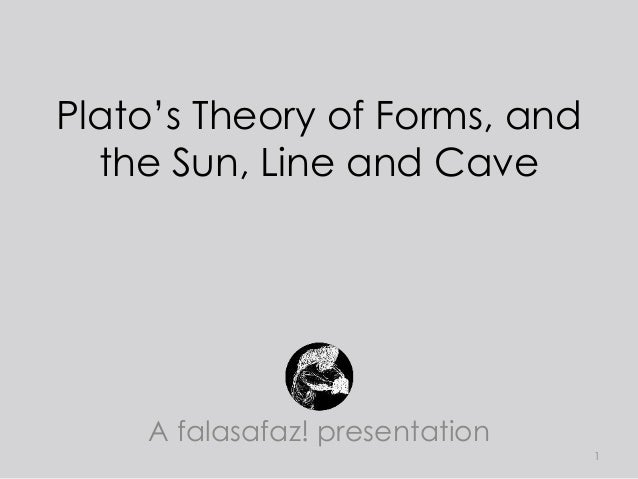 theory of forms Plato's theory of the forms: a response to the third man argument thirdman  what is the difference between myself and the desk at which i sit.