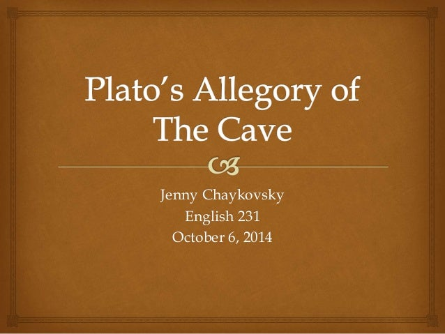 plato allegory of the cave essay Title: comparison between plato,s allegory of the cave and truman's show we live in a world of confusion human beings are faced with a lot of questions about the world they live in philosophers have developed several theories to explain world conditions of life.