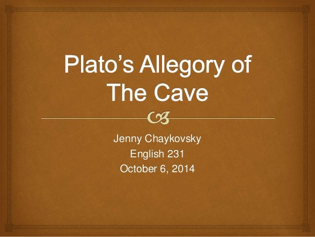 platos the allegory of the cave essay The allegory of the cave is one of the most famous passages in the history of western philosophy it is a short excerpt from the beginning of book seven of plato's book, the republic plato tells the allegory in the context of education it is ultimately about the nature of philosophical education, and it offers an.