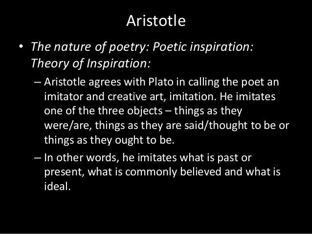 in aristotles poetics essay Essays and criticism on aristotle - biography aristotle biography - essay the entry poetics focuses on aristotle's poetics.