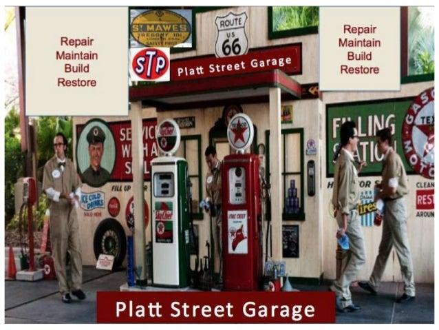 Platt street garage