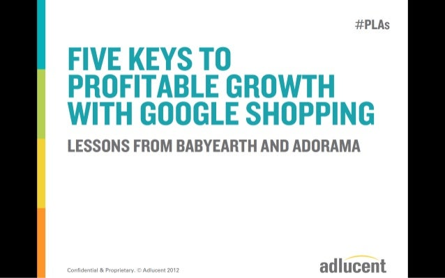 5 Keys to Profitable Growth with Google Shopping
