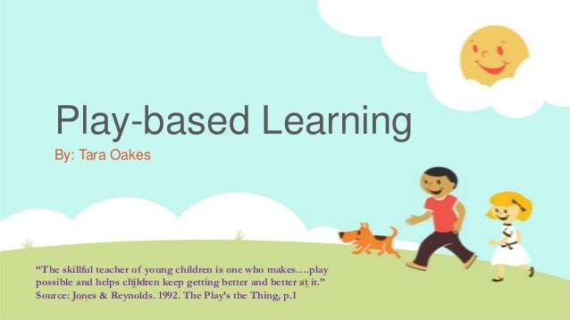 learning play: