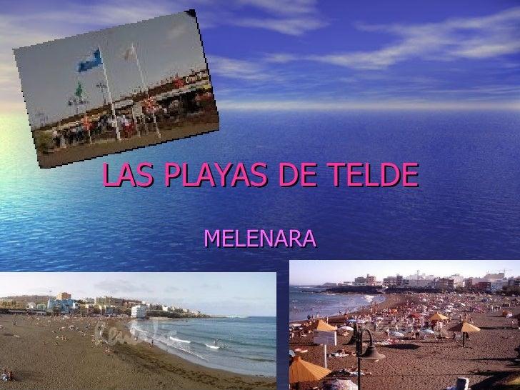 Playa De Melenara Por Adriana