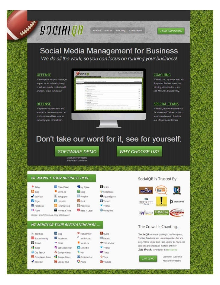 TABLE OF CONTENTS   INTRO             OUTLINE                   1- Social Media Team                   2- Social Media Sta...