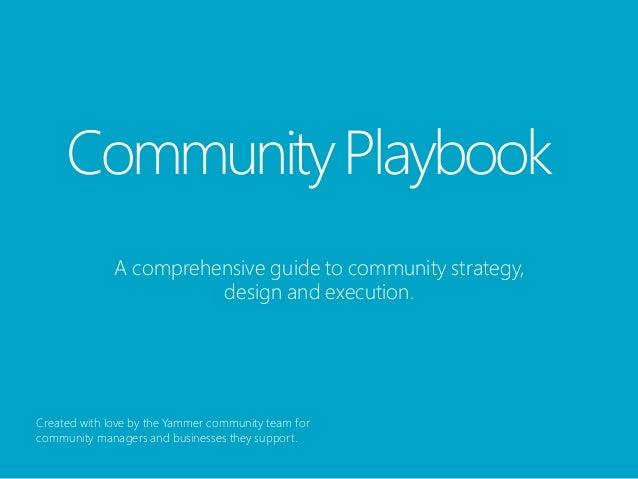 Community Management Playbook
