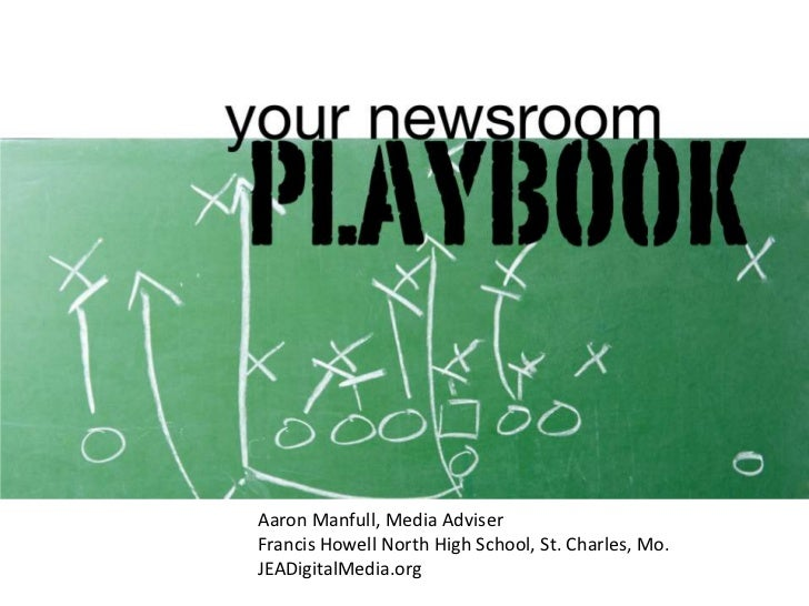 Aaron Manfull, Media AdviserFrancis Howell North High School, St. Charles, Mo.JEADigitalMedia.org<br />