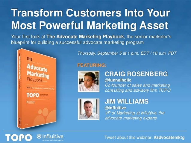 Webinar: Transform Customers Into Your Most Powerful Marketing Asset