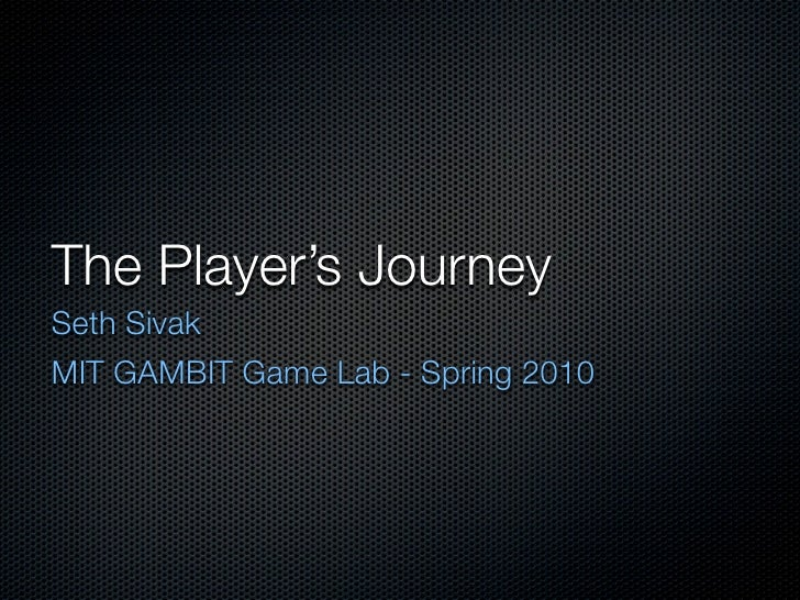 Players Journey