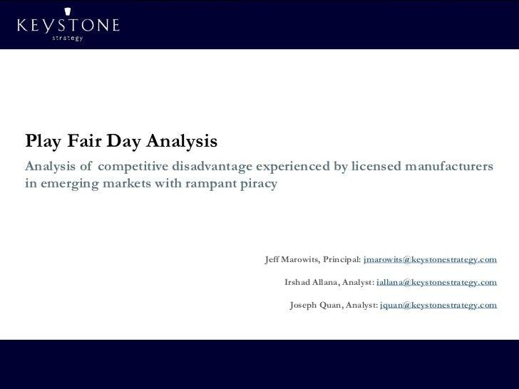 Playfair Analysis