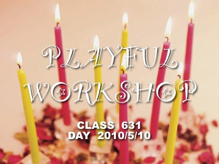 Playfulworkshop4
