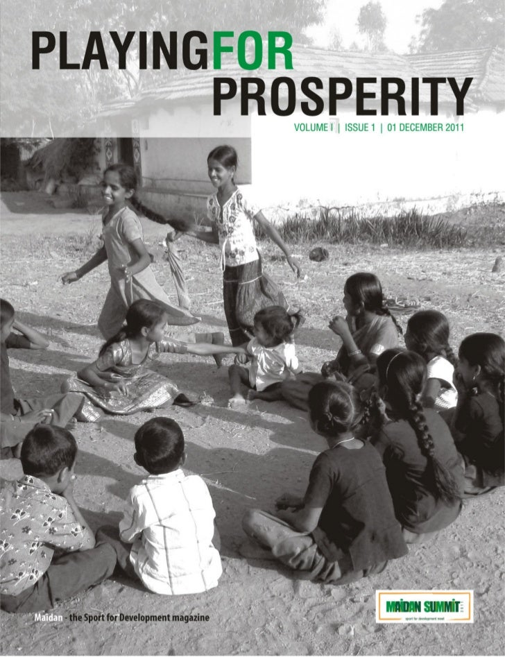 Playing for Prosperity | Maidan - the Sport for Development magazine