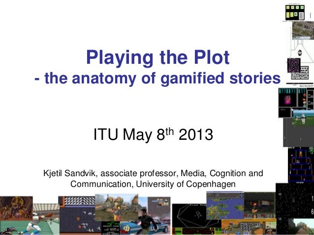 Playng the Plot: on the anatomy of gamified stories