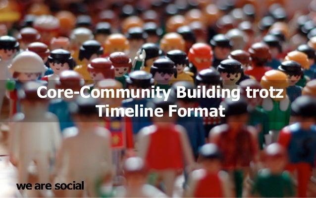 Core-Community Building trotz       Timeline Format
