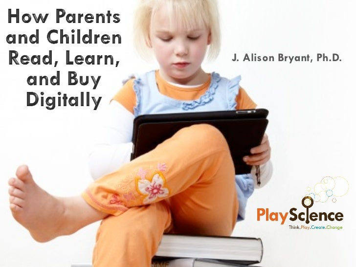 PlayScience - Families and eBooks - Digitial Book World Webcast