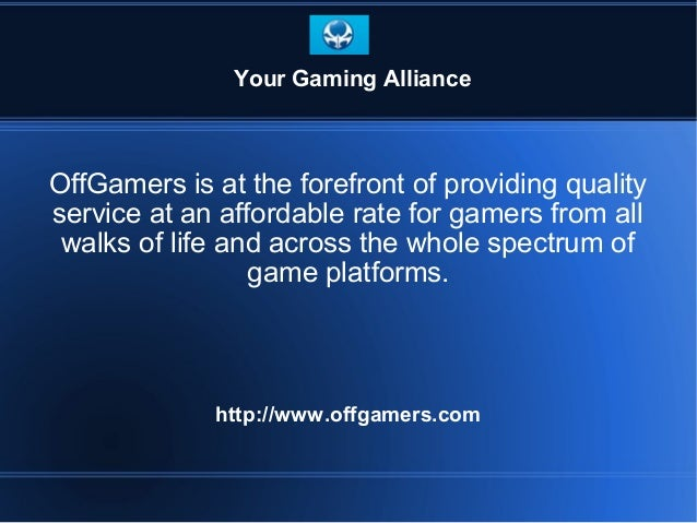 OffGamers is at the forefront of providing quality service at an affordable rate for gamers from all walks of life and acr...