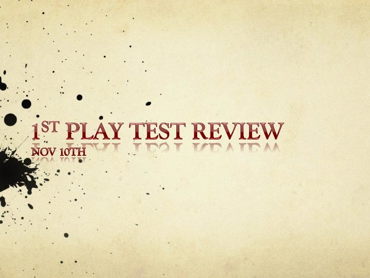 Play Test 1 for Survive This