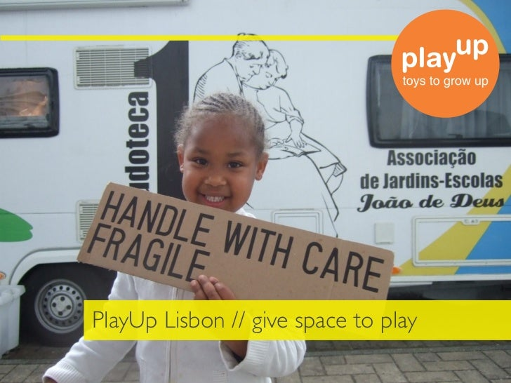PlayUp Lisbon // give space to play