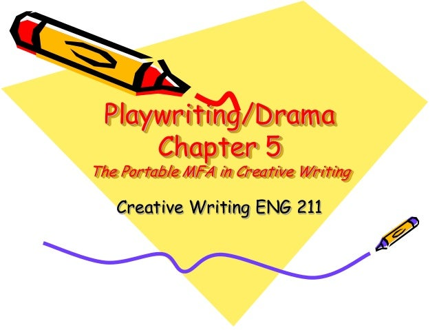 Playwriting/DramaChapter 5The Portable MFA in Creative WritingCreative Writing ENG 211