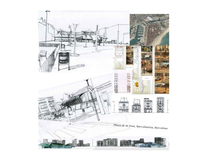 Plaza Font, Barcelona - Research and Analysis