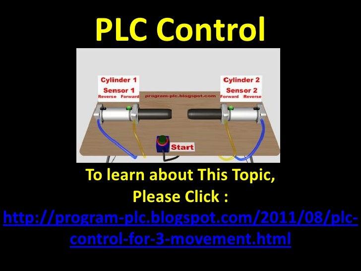 Plc Control  Plc  Programmable Logic Controller