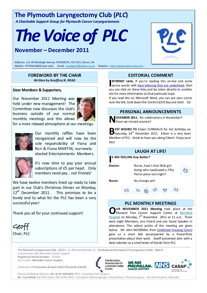 The Voice of PLC Nov-Dec 2011