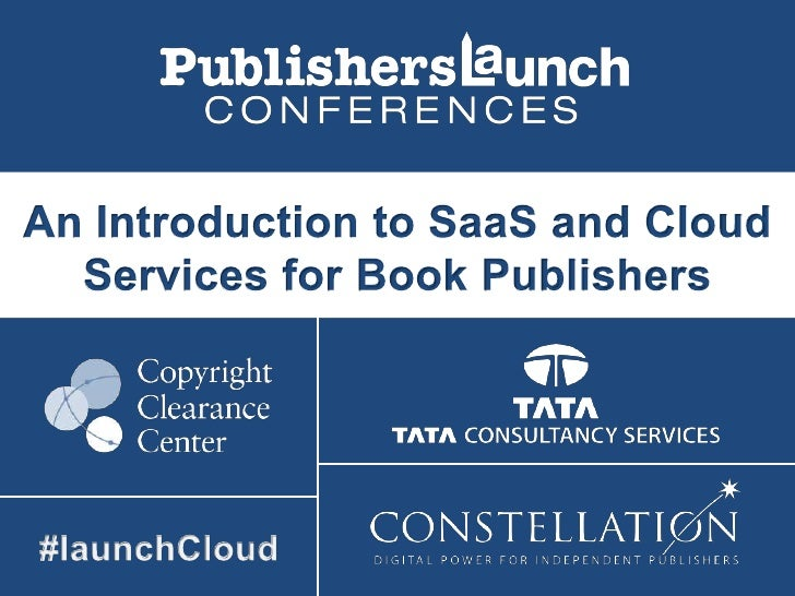 An Introduction to SaaS and Cloud Services for Publishers