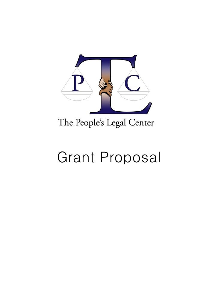 Grant Proposal for The People's Legal Center