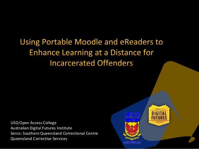 USQ Open Access CollegeAustralian Digital Futures InstituteSerco: Southern Queensland Correctional CentreQueensland Correc...