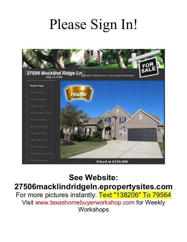 """Please Sign In!  See Website: 27506macklindridgeln.epropertysites.com For more pictures instantly: Text """"138206"""" To 79564 ..."""