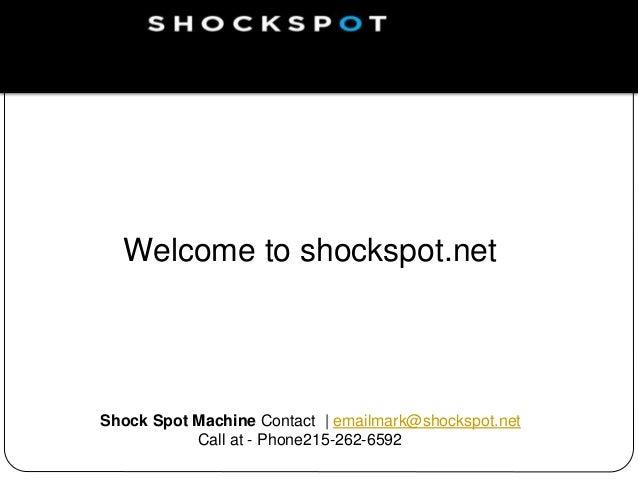 shock spot machine