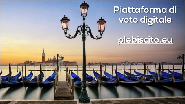 Piattaforma di voto digitale !  plebiscito.eu