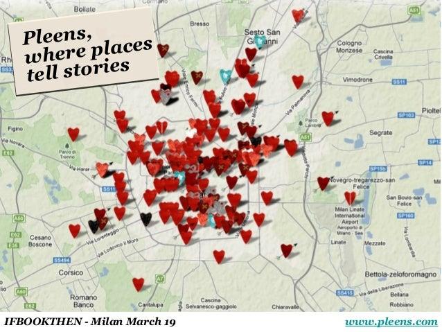 Giorgia Lupi - Pleens, where places tell stories