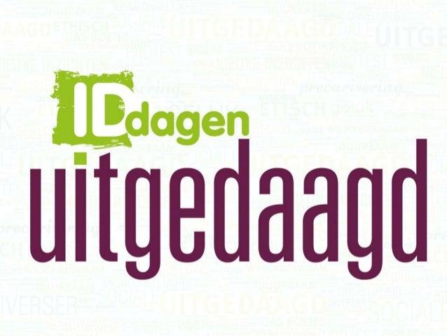 Het middenveld zal politiek zijn, of het zal niet zijn. Pascal Debruyne onderzoeker MENARG Universiteit Gent & Bart Van Bo...