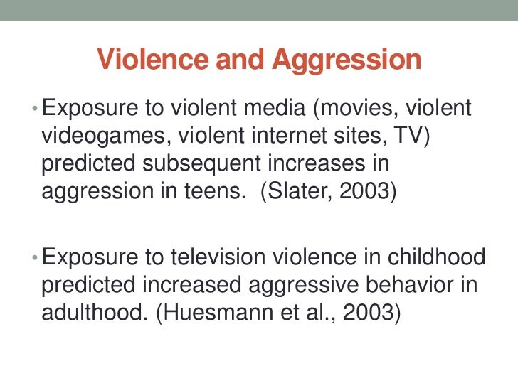 effect of media on child violence What's the relationship between media violence we have to allow for some normal child role researchers who study tv's effect on kids say.
