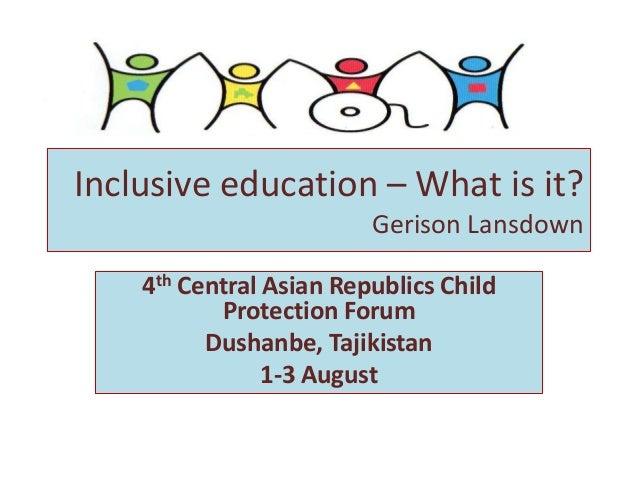 Expert presentation by Ms. Gerison Lansdown, International Expert on Child Rights