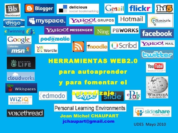 Herramientas Web20 para autoaprender