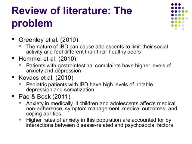 Literature review on depression