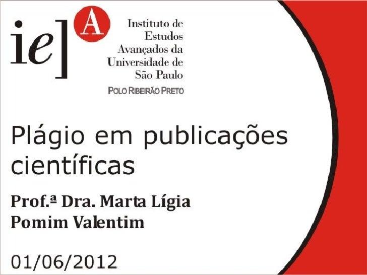 IEA - Plágio em publicações científicas