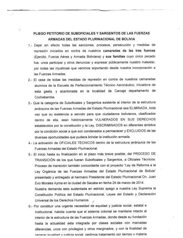 Pliego petitorio-suboficiales-sargentos-ffaa