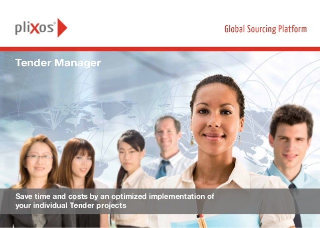 Automation in IT Services procurement by Tender Manager