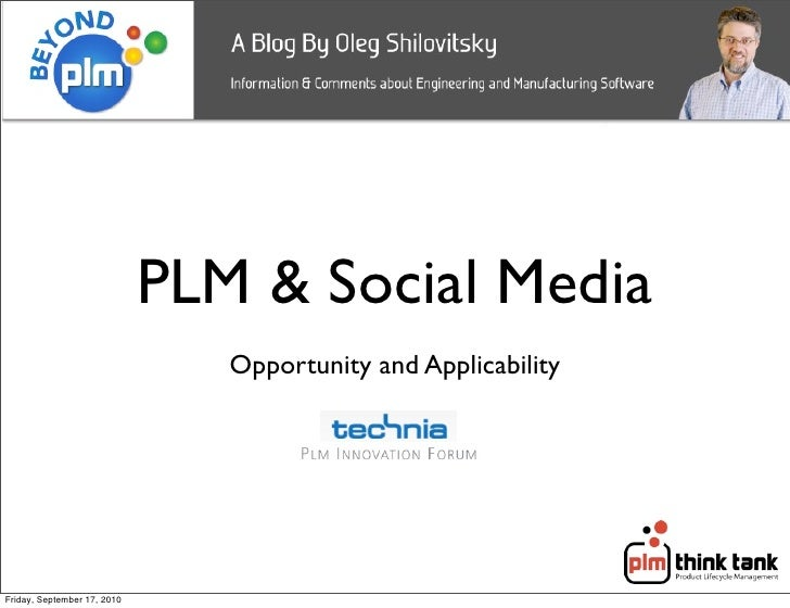 Plm and social media oleg shilovitsky small