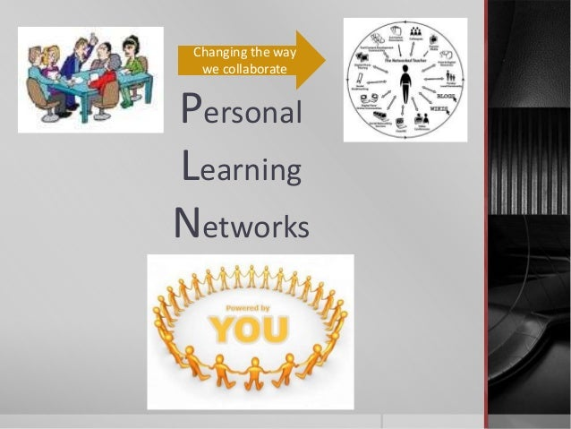 PersonalLearningNetworksChanging the waywe collaborate