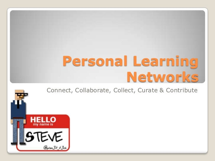 Personal Learning Networks 12'