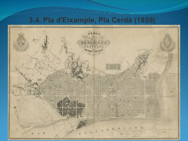 3.4. Pla dEixample, Pla Cerdà (1859)