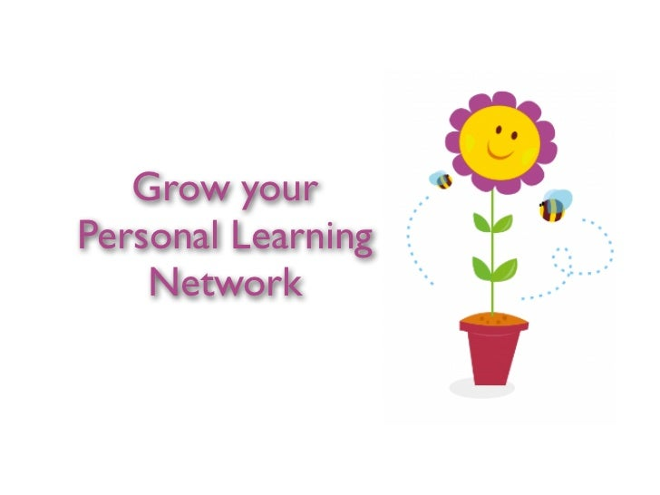 Grow yourPersonal Learning    Network