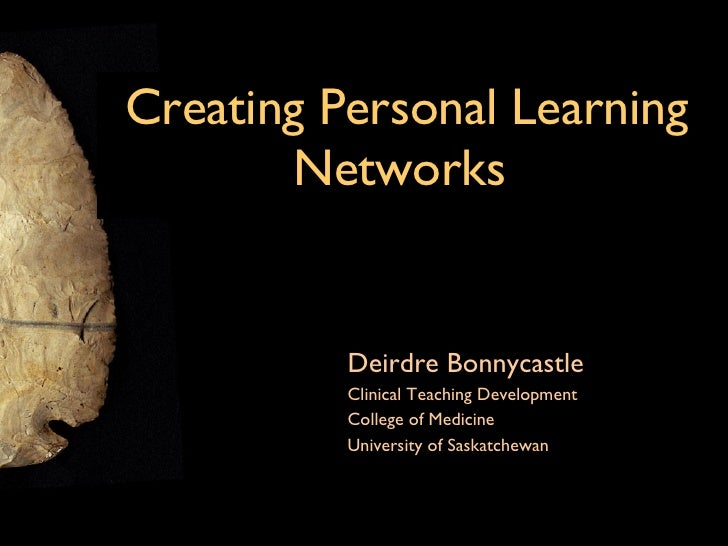Creating a Personal Learning Network