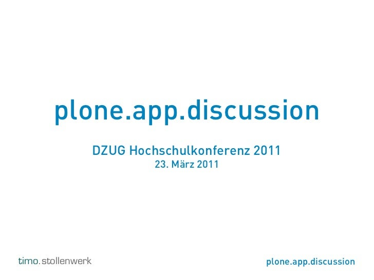Plone.app.discussion